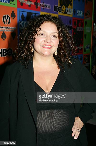 Aida Turturro during The Comedy Festival Celebrity Poker Tournament at PURE Nightclub at Caesars Palace in Las Vegas Nevada United States