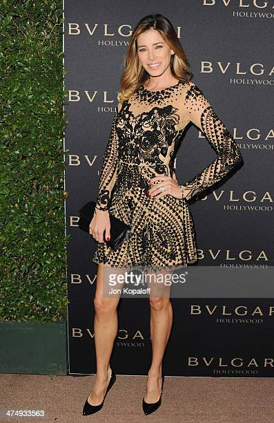 Aida Yespica arrives at BVLGARI 'Decades Of Glamour' Oscar Party Hosted By Naomi Watts at Soho House on February 25 2014 in West Hollywood California