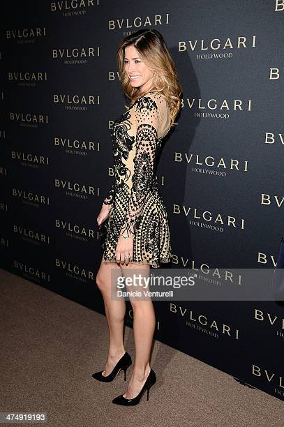Aida Yespica attends BVLGARI 'Decades Of Glamour' Oscar Party Hosted By Naomi Watts on February 25 2014 in West Hollywood California