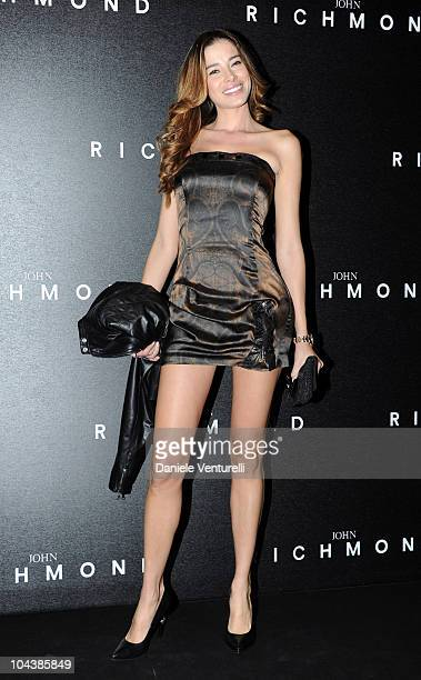 Aida Yespica attends the John Richmond Milan Fashion Week Womenswear S/S 2011 show on September 22 2010 in Milan Italy
