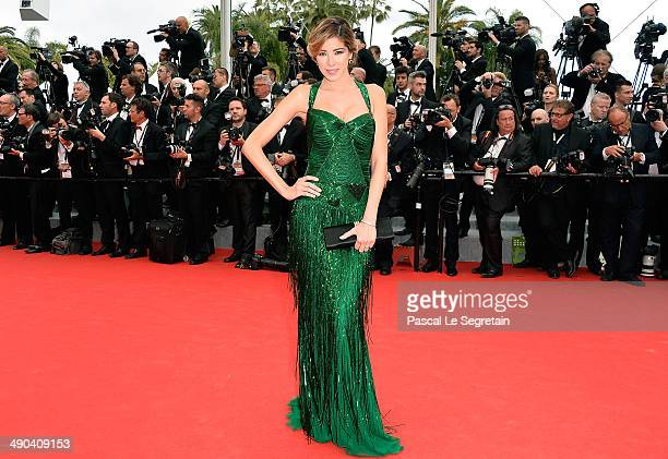Aida Yespica attends the Opening ceremony and the 'Grace of Monaco' Premiere during the 67th Annual Cannes Film Festival on May 14 2014 in Cannes...
