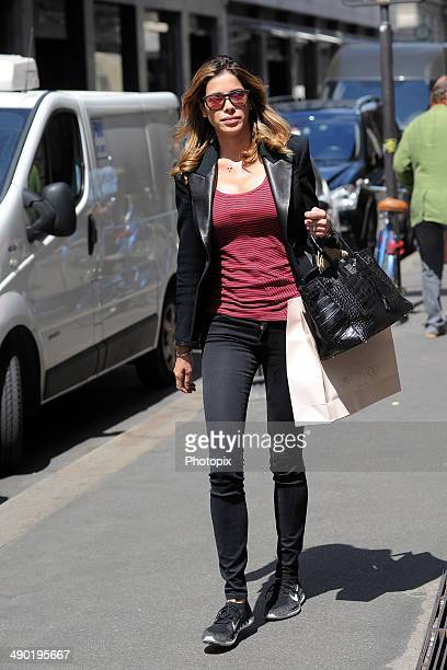 Aida Yespica is seen on May 14 2014 in Milan Italy