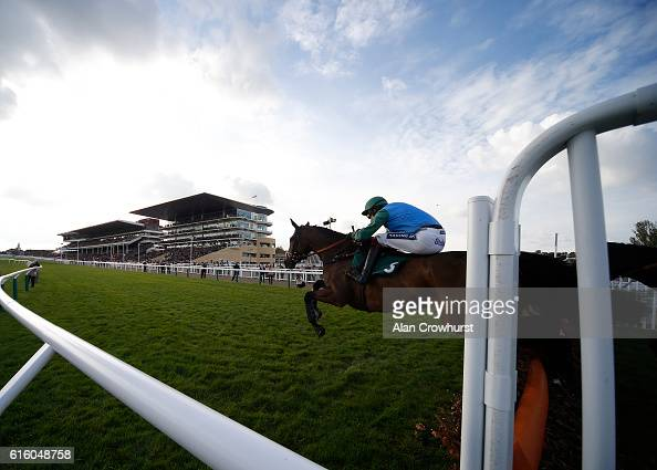 Aidan Coleman riding Midnight Shot lead all the way to win The Join The Jockey Club Ownership Syndicate Handicap Hurdle at Cheltenham Racecourse on...