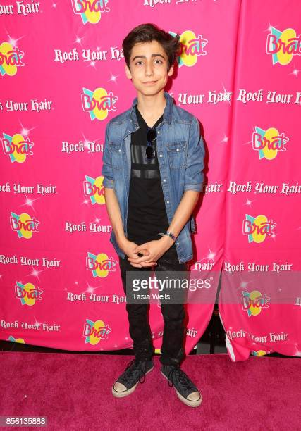 Aidan Gallagher at Rock Your Hair Presents Rock Back to School Concert Party on September 30 2017 in Los Angeles California