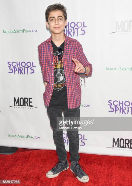 Aidan Gallagher attends School Spirits Premiere on October 6 2017 in Beverly Hills California