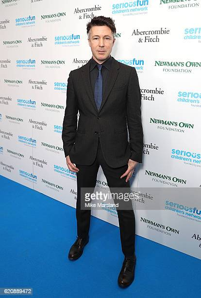 Aidan Gillen attends the SeriousFun Children's Network London Gala 2016 at The Roundhouse on November 3 2016 in London England