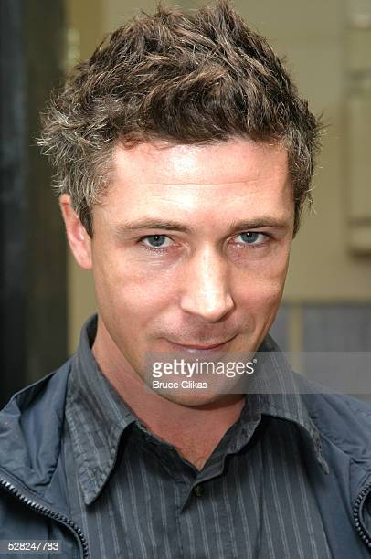 Aidan Gillen during First Day of Rehearsal for The Roundabout Theater Production of The Caretaker September 22 2003 at Roundabout Theater Studios in...