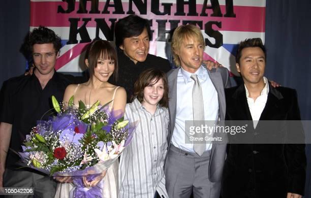 Aidan Gillen Fann Wong Jackie Chan Aaron Johnson Owen Wilson and Donnie Yen