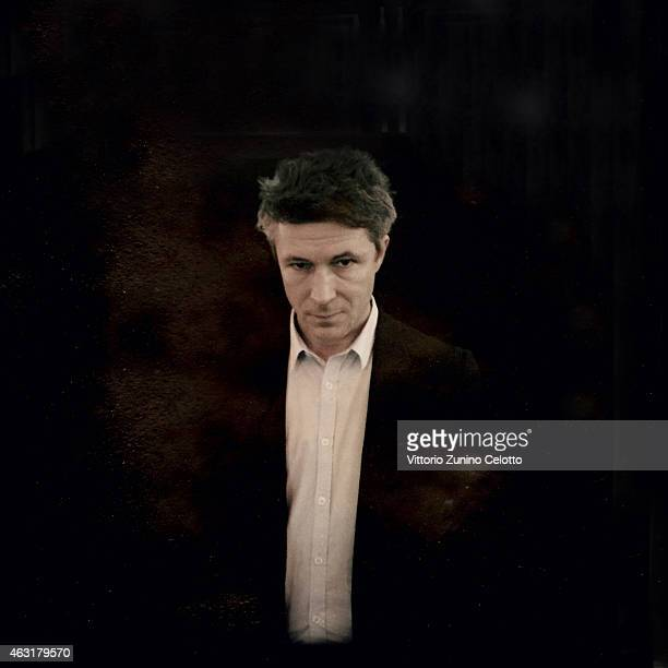 Aidan Gillen poses during the 65th Berlinale International Film Festival on February 7 2015 in Berlin Germany