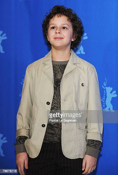 Aidan Gould attends the 'Julia' Photocall and Press Conference as part of the 58th Berlinale Film Festival at the Grand Hyatt Hotel on February 9...
