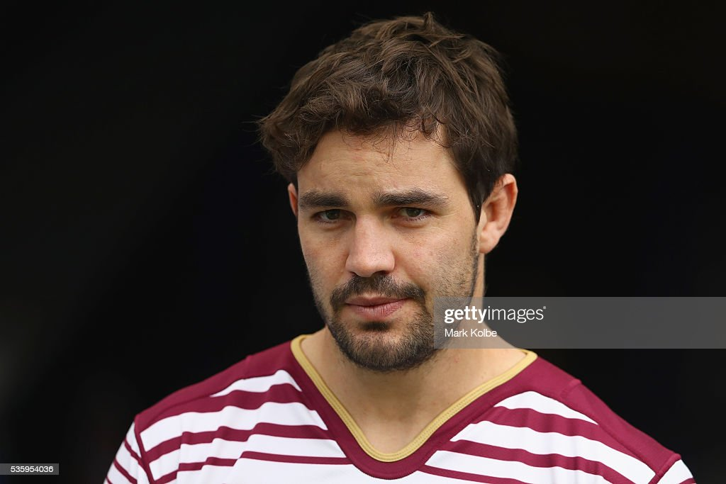 Aidan Guerra walks out of the tunnel during a Queensland Maroons State Of Origin captain's run at ANZ Stadium on May 31, 2016 in Sydney, Australia.