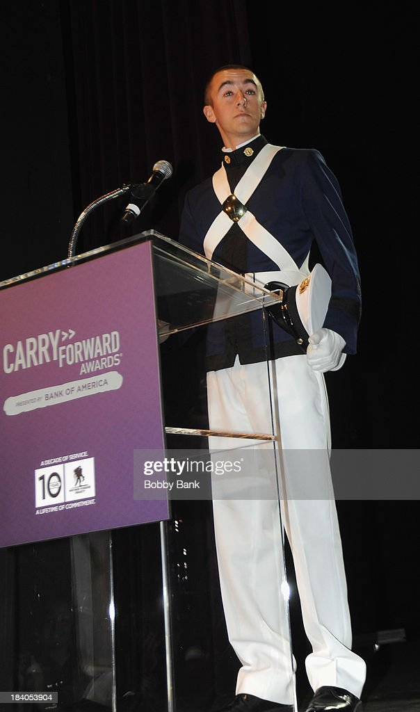Aidan Hughes attends the Wounded Warrior Project Carry Forward Awards Show at Club Nokia on October 10, 2013 in Los Angeles, California.