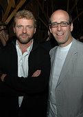 Aidan Quinn and Matt Blank chairman and CEO of Showtime