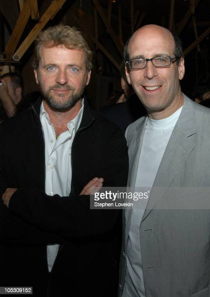 Aidan Quinn and Matt Blank chairman and CEO of Showtime