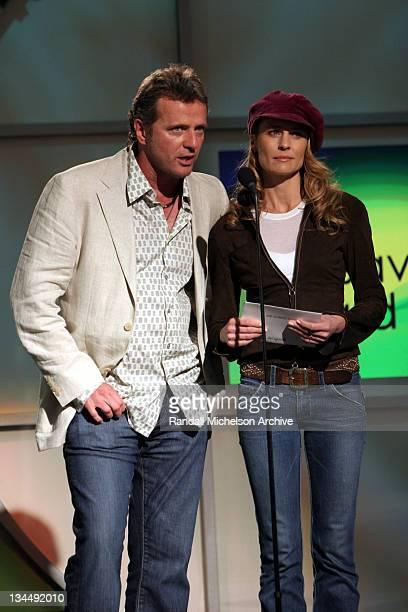 Aidan Quinn and Robin Wright Penn presenters of the John Cassavetes Award