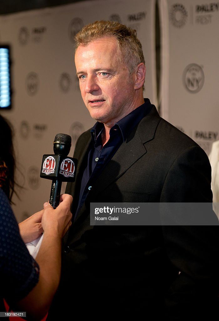 <a gi-track='captionPersonalityLinkClicked' href=/galleries/search?phrase=Aidan+Quinn&family=editorial&specificpeople=171142 ng-click='$event.stopPropagation()'>Aidan Quinn</a> attends the 'Elementary' panel during 2013 PaleyFest: Made In New York at The Paley Center for Media on October 5, 2013 in New York City.