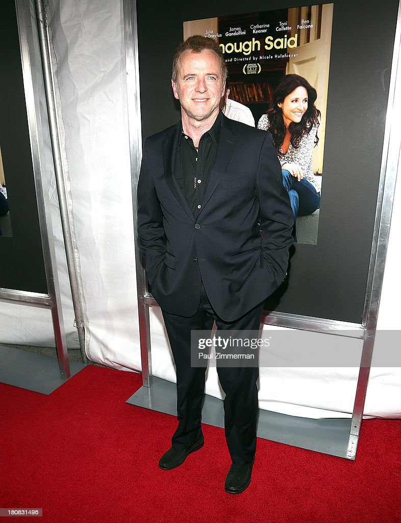<a gi-track='captionPersonalityLinkClicked' href=/galleries/search?phrase=Aidan+Quinn&family=editorial&specificpeople=171142 ng-click='$event.stopPropagation()'>Aidan Quinn</a> attends the 'Enough Said' New York Screening at Paris Theater on September 16, 2013 in New York City.