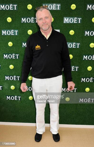 Aidan Quinn attends The Moet Chandon Suite at The Aegon Championships Queens Club finals on June 16 2013 in London England