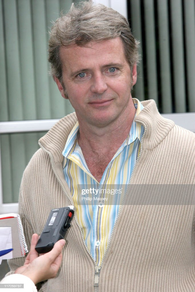 <a gi-track='captionPersonalityLinkClicked' href=/galleries/search?phrase=Aidan+Quinn&family=editorial&specificpeople=171142 ng-click='$event.stopPropagation()'>Aidan Quinn</a> during <a gi-track='captionPersonalityLinkClicked' href=/galleries/search?phrase=Aidan+Quinn&family=editorial&specificpeople=171142 ng-click='$event.stopPropagation()'>Aidan Quinn</a> and Orla Brady on the Set of 32A - August 16, 2006 in Dublin, Ireland.