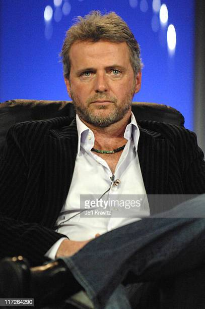 Aidan Quinn of Bury My Heart at Wounded Knee during HBO Winter 2007 TCA Press Tour in Los Angeles California United States