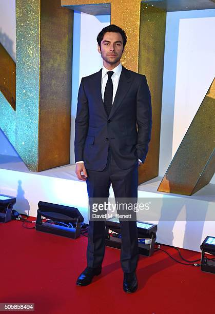 Aidan Turner attends the 21st National Television Awards at The O2 Arena on January 20 2016 in London England