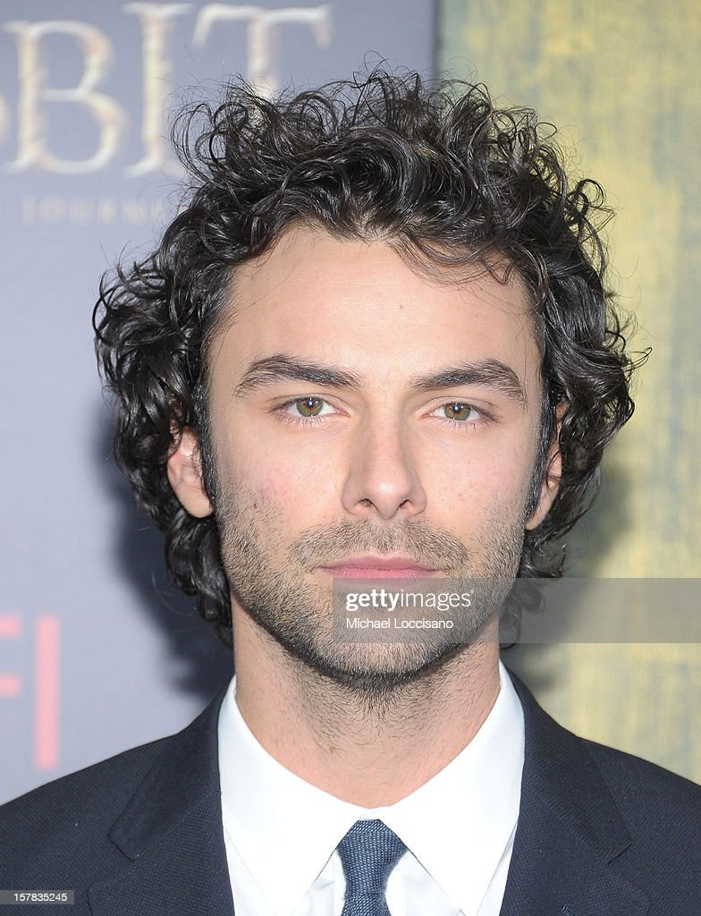 Aidan Turner attends 'The Hobbit: An Unexpected Journey' New York Premiere Benefiting AFI at Ziegfeld Theater on December 6, 2012 in New York City.