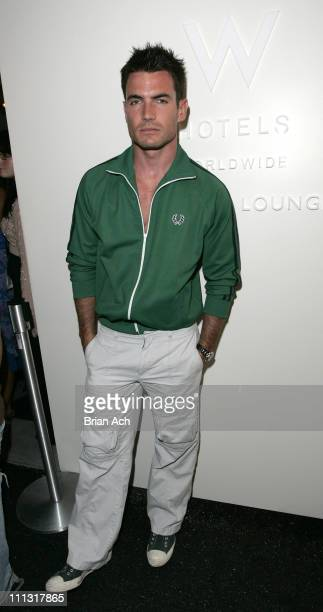 Aidan Turner during Olympus Fashion Week Spring 2007 Seen at Bryant Park Day 6 at Bryant Park in New York City New York United States