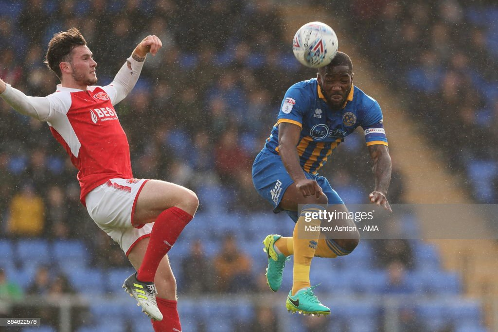 Shrewsbury Town v Fleetwood Town - Sky Bet League One