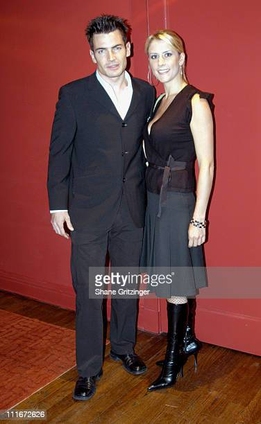 Aiden Turner and Megan Marshall during Private Book Launch Party for Author John Livesays New Book 'The Most Powerful Selling Secrets' at Private...