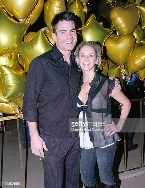 Aiden Turner and Samantha Prestley during Mao Magazine Fashion Week Launch Party Hosted by Debbie Harry January 31 2007 at The Broad Street Ballroom...