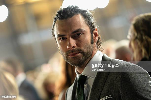 Aiden Turner attends the National Television Awards on January 25 2017 in London United Kingdom