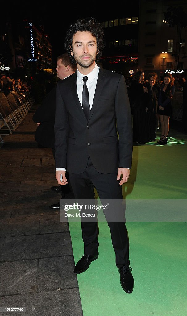 Aiden Turner attends the Royal Film Performance of 'The Hobbit: An Unexpected Journey' at Odeon Leicester Square on December 12, 2012 in London, England.