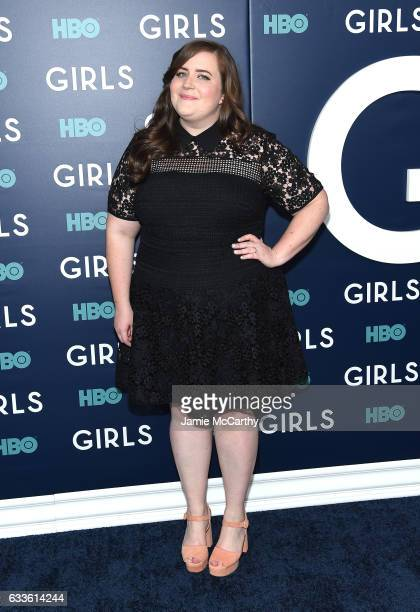 Aidy Bryant attends The New York Premiere Of The Sixth Final Season Of 'Girls' at Alice Tully Hall Lincoln Center on February 2 2017 in New York City