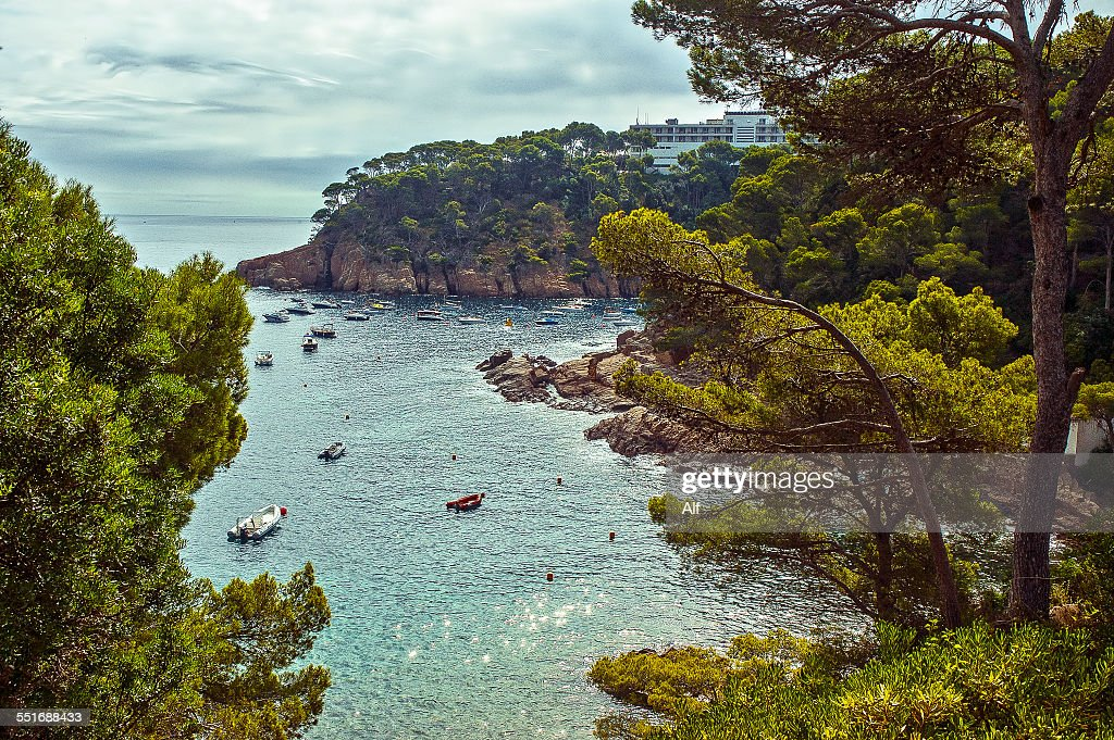 Aiguablava beach in Costa Brava