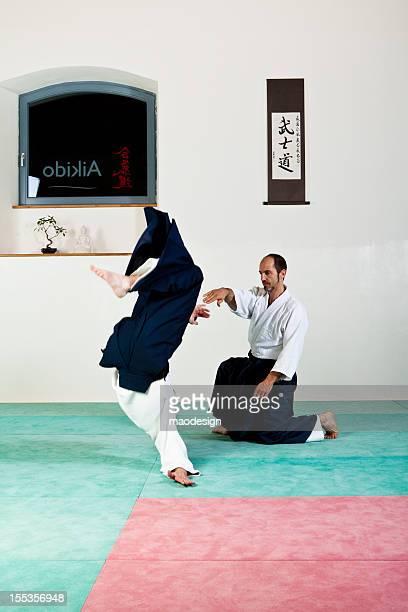 Aïkido pas technique