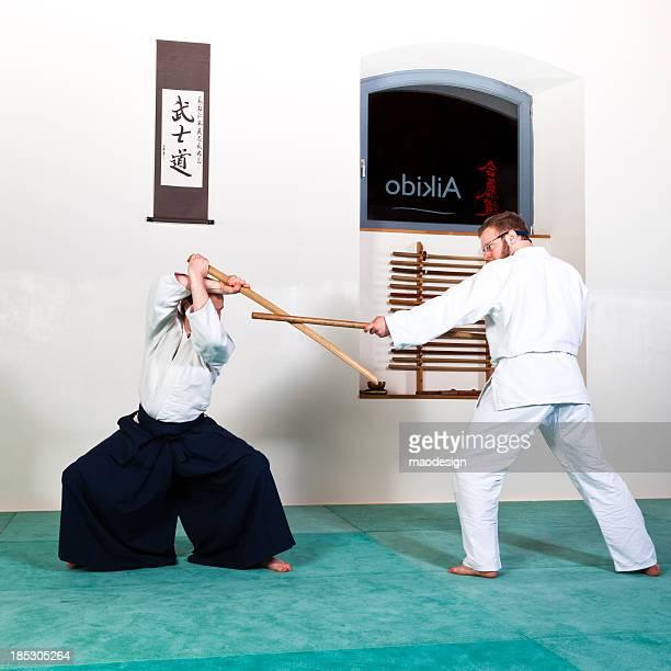 Aïkido bois épée technique