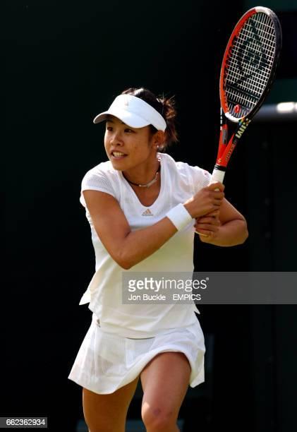 Aiko Nakamura in action against Martina Hingis