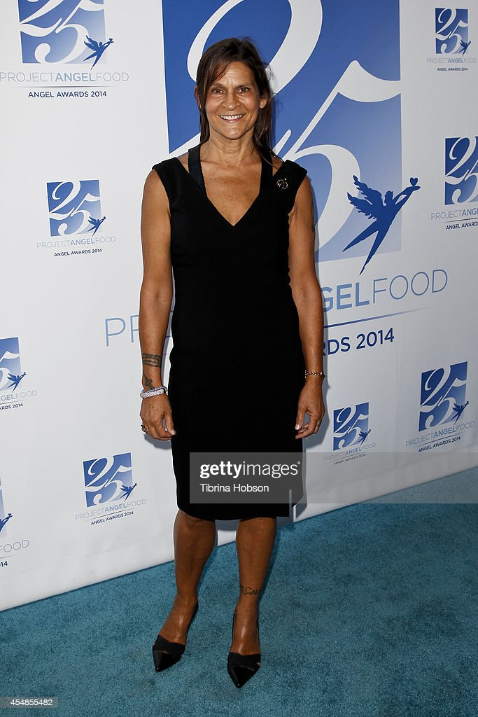 Aileen Getty attends Project Angel Food's 25th year celebration at Project Angel Food on September 6 2014 in Los Angeles California