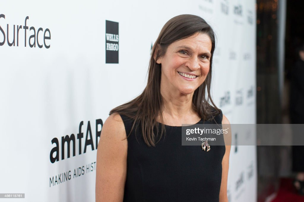Aileen Getty attends the 2013 amfAR Inspiration Gala Los Angeles at Milk Studios on December 12 2013 in Los Angeles California