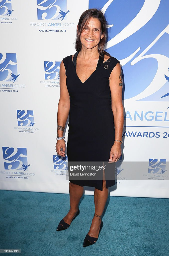 Aileen Getty attends the 2014 Angel Awards at Project Angel Food on September 6 2014 in Los Angeles California