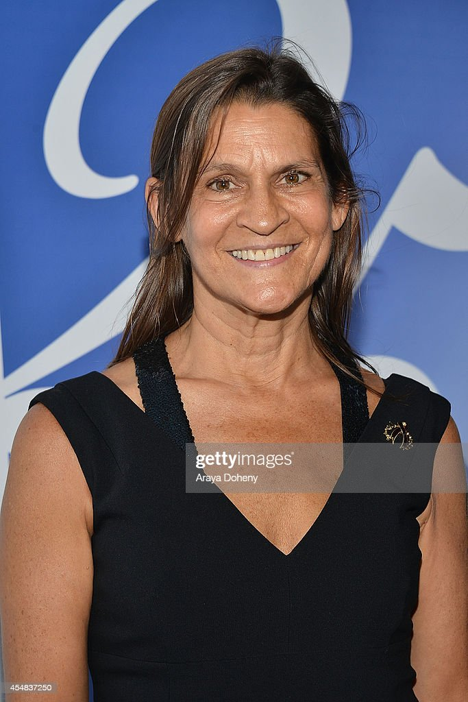 Aileen Getty attends the Project Angel Food's 25th Anniversary Angel Awards 2014 honoring Aileen Getty with the Inaugural Elizabeth Taylor Leadership...