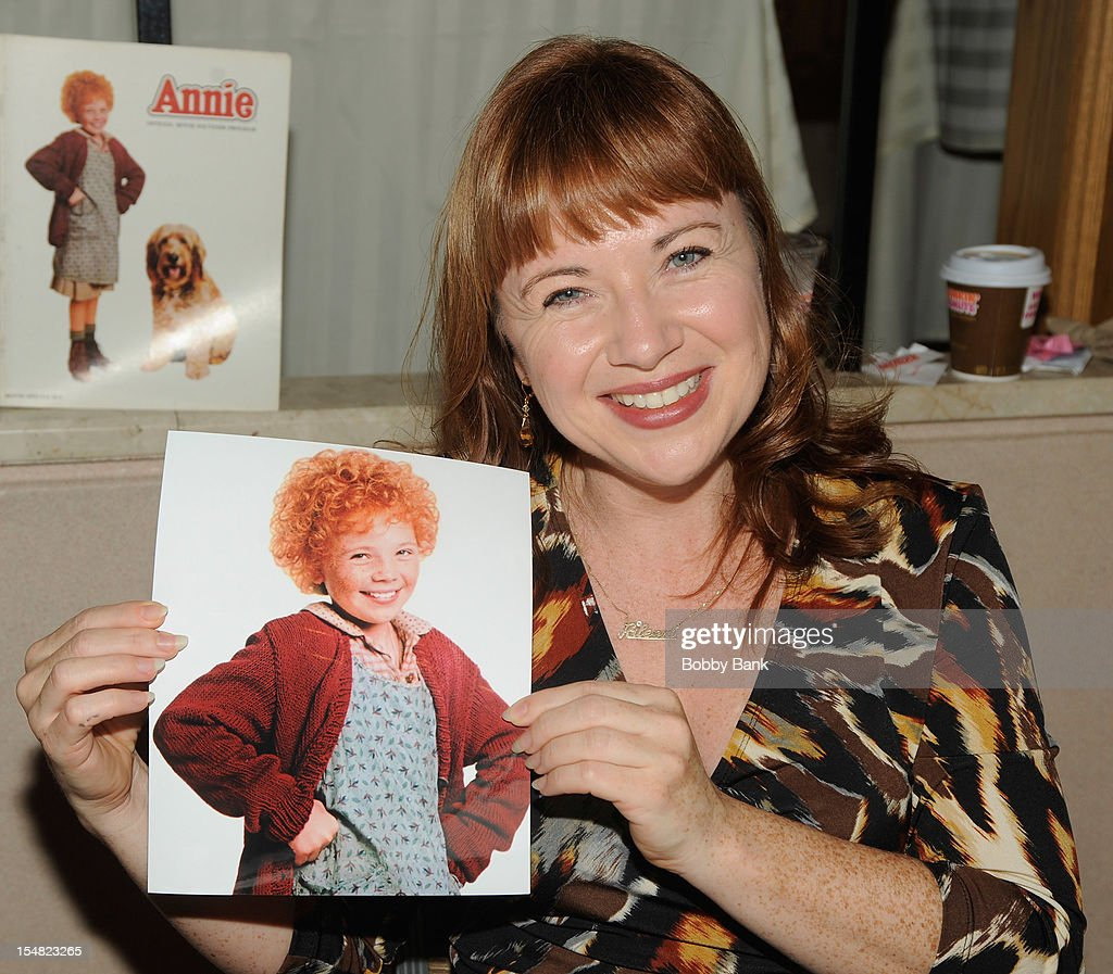 Aileen Quinn attends the 2012 Chiller Theatre Expo at the Sheraton Parsippany Hotel on October 26, 2012 in Parsippany, New Jersey.