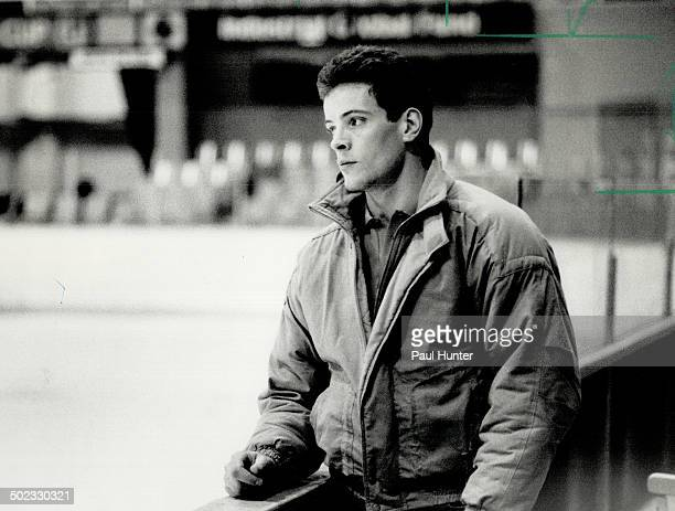 Ailing Leaf Tom Fergus dropped by Maple Leaf Gardens yesterday but didn't skate The Leaf centre has missed the last eight games with a mysterious...