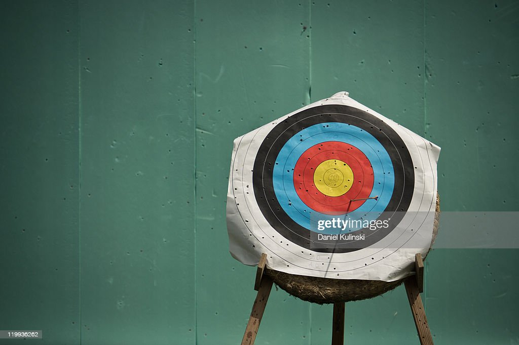 Aim for archery : Stock Photo