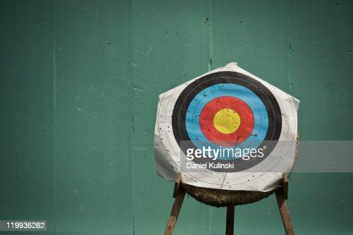 Aim for archery : Foto de stock