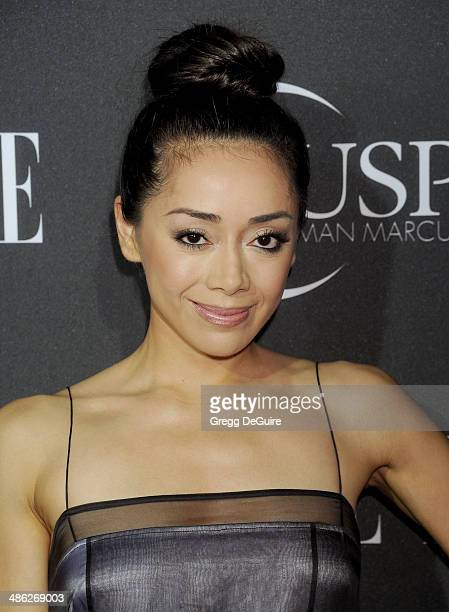 Aimee Garcia arrives at ELLE's 5th Annual Women In Music concert celebration at Avalon on April 22 2014 in Hollywood California