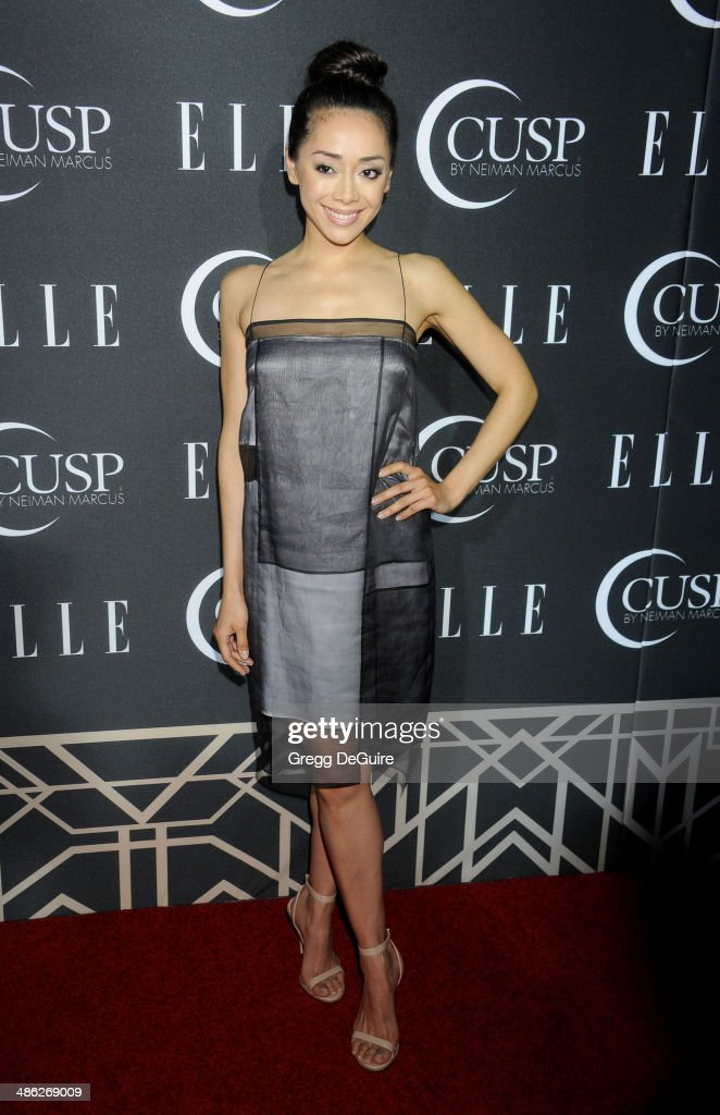 <a gi-track='captionPersonalityLinkClicked' href=/galleries/search?phrase=Aimee+Garcia&family=editorial&specificpeople=561569 ng-click='$event.stopPropagation()'>Aimee Garcia</a> arrives at ELLE's 5th Annual Women In Music concert celebration at Avalon on April 22, 2014 in Hollywood, California.