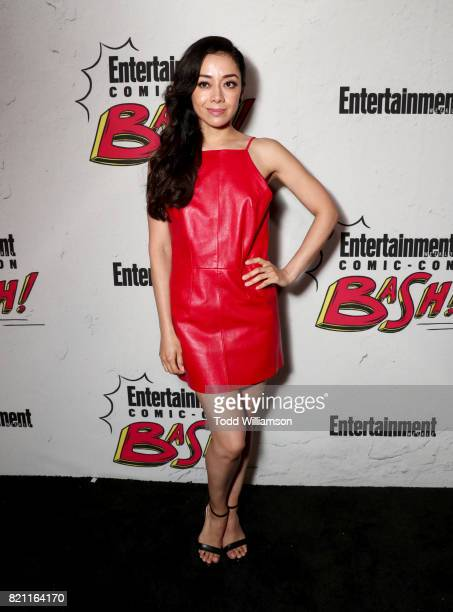Aimee Garcia at Entertainment Weekly's annual ComicCon party in celebration of ComicCon 2017 at Float at Hard Rock Hotel San Diego on July 22 2017 in...