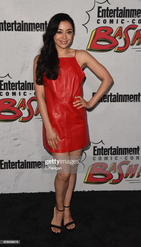 Aimee Garcia attends Entertainment Weekly's annual Comic-Con party in celebration of Comic-Con 2017 at Float at Hard Rock Hotel San Diego on July 22, 2017 in San Diego, California.
