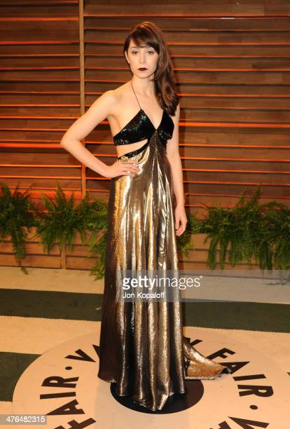 Aimee Garcia attends the 2014 Vanity Fair Oscar Party hosted by Graydon Carter on March 2 2014 in West Hollywood California